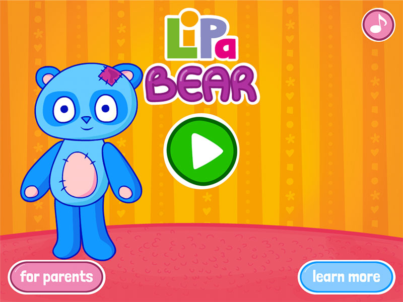 HTML5 Lipa Bear game screenshot